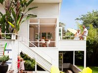 New House ideas / A mishmash of midmod, organic, monochrome, Boho, Eco chic and modern with a dose of whimsy thrown in.