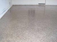 Epoxy Concrete Floor on Pinterest | Decks, Floors and Behr