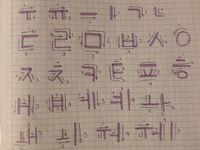 Learning Korean  Board