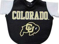 Gold /& Black Colorado Buffaloes NCAA Baby Boys Creeper Top and Pants Set