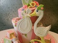 Baby Shower Cakes & Toppers