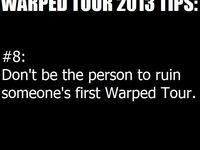 Bands and Warped Tour and many other things having to do with the wonderful music these bands make ^-^