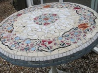 Mosaics- Stained Glass- Glass Gems-  Ceramic Tile- Mirror Projects