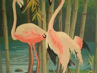Pink Flamingos for Gidget