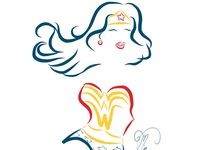 Wonder woman tattoo on pinterest wonder woman tattoos for Wonder woman temporary tattoo