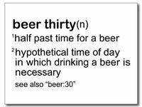 Beer-thirty Birthday Bash