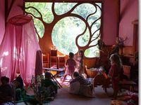 интерьер детского пространства