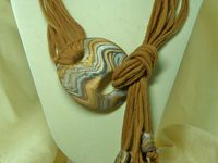 ... on Pinterest | T Shirt Scarves, Braided Scarf and No Sew Scarf