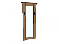 Half Bath Mirror On Pinterest Mirror Craftsman And