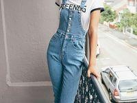 11 Ideas De Pantalon Pechera Overol Ropa De Moda Ropa
