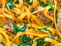 All of the recipes here are made with spiralizer. Spiralized dinners, salads, and healthy meals. Enjoy! SPIRALIZER RECIPES  Board