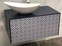 Bathroom Vanity Unit Black White Martin Furniture Bathroom Vanity Units Bathroom Store