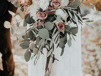 Greenery and Blush wedding