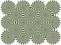 optical illusions - movement