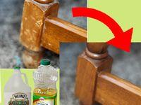 Repair Scratched Wood