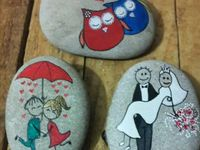 Rocks - Painted