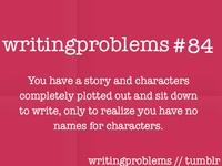 I fancy myself a writer.....