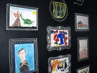 Displaying Children's Artwork at Home