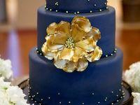 Indian Wedding Inspirations: Blue Wedding Cakes