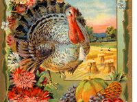 Thanksgiving Vintage Cards