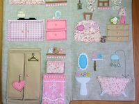 60 Best doll houses images | Fabric dolls, Felt books, Baby doll house