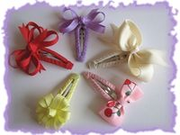 Crafts- Handmade Flowers, Ribbon Crafts, Headbands and Hair Accessories