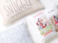 Home Decor - Pillows on Pinterest | Custom Pillows, Tiny Prints and ...