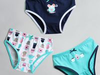 """Vaenait Baby Kids Clothes Brief Short Underwear Girls Pantie Set /""""Hanna/"""" 2T-7T"""
