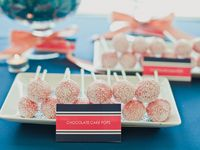 Coral & Navy Wedding Inspiration