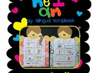 All About Me Unit for Dual Language Classroom