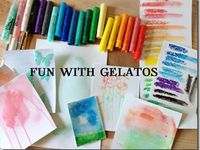 images about using GELATOS Memory Crafts
