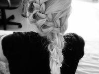bobby pins and hairspray