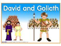 church - bible - David/Goliath