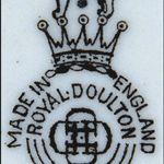 Doulton and royal dates marks Doulton &