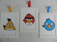 17 best images about angry birds decor on pinterest for Angry bird wall mural