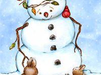 snowmen☆they make me smile