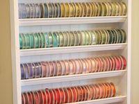 Craft organizing & storage
