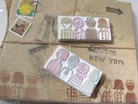 Rubber stamps hand made