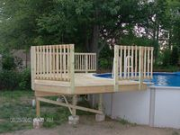 pool, decks and wood projects