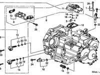 2002 Honda Accord Sedan Transmission Automatic At Sensor Solenoid V6 Selection 1 Honda Accord Honda Transmission