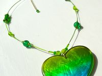 Handmade Necklaces / This board shows my handmade jewellery necklace with most of the dangles being recycled from old jewellery and reinvented