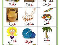 كلمات تحتوي على حرف الخاء موقع مدرستي In 2021 Arabic Alphabet For Kids Learn Arabic Alphabet Arabic Alphabet Letters