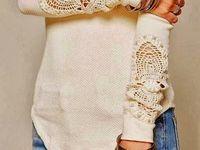 Sweaters, Jackets & Crochet Patterns..