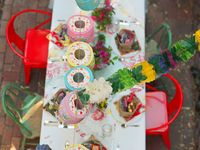 Cinco de Mayo, Dia de Los Muertos or any other Fiesta decor and recipe ideas. In addition to other boards: Parties + Events and Iberian, Latin + Med Style.