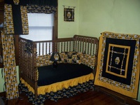 50 best images about steelers baby on pinterest crib bedding sets pittsburgh steelers and for Pittsburgh steelers bedroom slippers