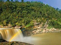 Cumberland Falls - moonbow