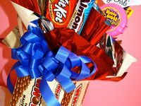 Candy bouquets ...