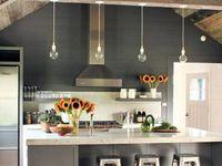 Kitchen idea/pantry doors