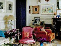 Eclectic interiors.
