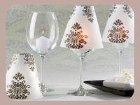 77 b sta bilderna om copas de vino decoradas p pinterest for Decoracion copa efecto espejo